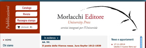 Morlacchi Editore University Press